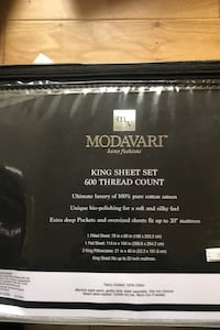 Modavarti king sheets