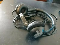 black and gray corded headphones Indianapolis, 46256