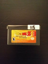 Gameboy Advance Dragon Ball Z Legacy of Goku 2 Vaughan, L4L
