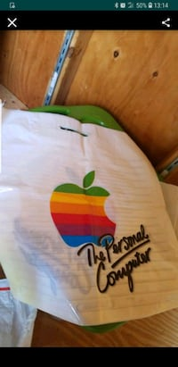 (8) Vintage Apple Store Bags Rare Collectible NEW Tinicum Township