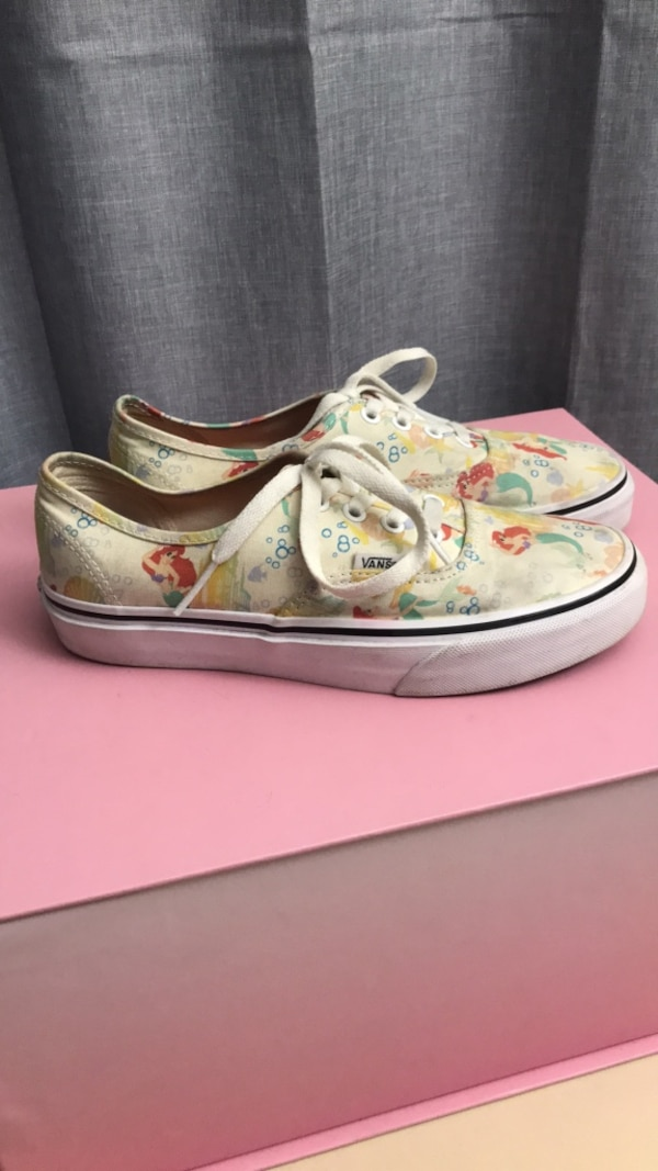 bc60d6fe590 Used Vans disney princess Ariel for sale in Mountain View - letgo