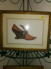 brown wooden framed painting of brown wooden bird 2059 mi