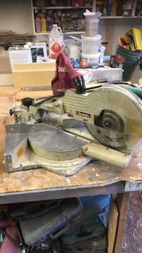 White and black miter saw Grimsby, L3M 4N2