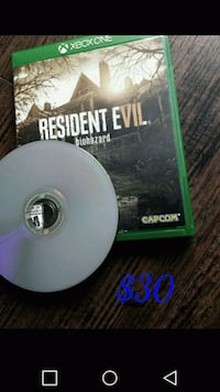 Xbox One Resident Evil  Red Deer