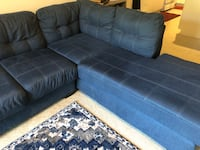 Blue sectional sofa Fairfax, 22030