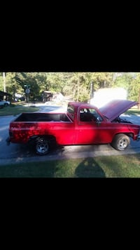 Red single cab pickup truck NEGOTIATABLE