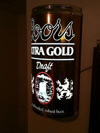 Coors Extra Gold signage Taneytown, 21787