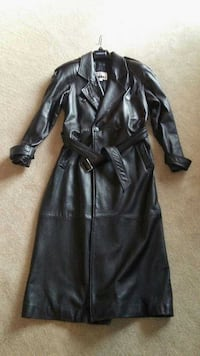 Men's Lambskin Leather Trench coat