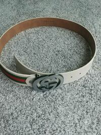 white and brown Gucci belt  Delta, V4C 4Z8