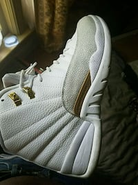 unpaired gray and white Air Jordan 12 shoe Rocky Mount, 27804