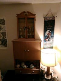brown wooden cabinet with mirror Houma, 70364