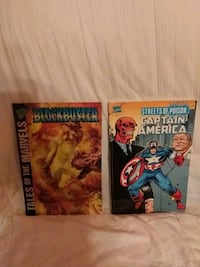 Captain America Comic along with 1 more Fairlawn