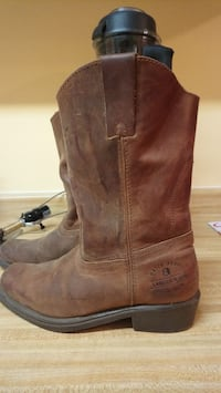 Thick leather handcrafted boots Burnaby, V5G 3J3