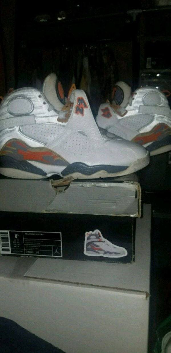 Used 2007 Size 8 5 Nike Jordan Orange Blaze 8s For Sale In Queens