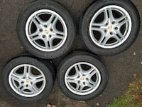 Porsche Cayenne used wheels/tires combo Knoxville, 21758