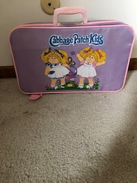 Vintage Cabbage Patch Suitcase 1983 Marietta, 17547