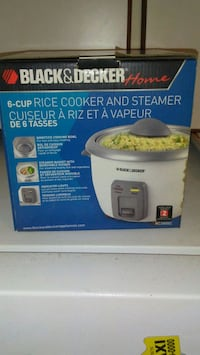 Black and Decker Rice cooker Toronto, M1J 3H8