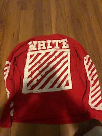 Off-white red long sleeve Richmond Hill, L4E 5B9