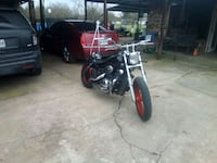 black and red touring motorcycle Hessmer, 71341