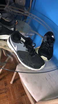 pair of black-and-white Nike sneakers Toronto, M3C 1A3