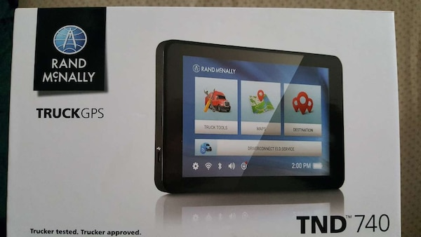 Rand Mcnally Gps >> Rand Mcnally Trucks Gps Tnd 740 Box