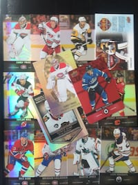 Hockey Cards from Tim Horton's Toronto, M4V 2C1