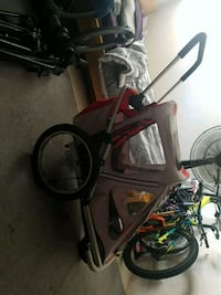 Voyager a single seat child stroller an trailer Coquitlam, V3C 2B9