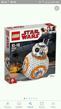 Lego starwars BB8 set New in box Aliso Viejo, 92656