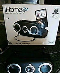 iHome 2go portable system for iPod