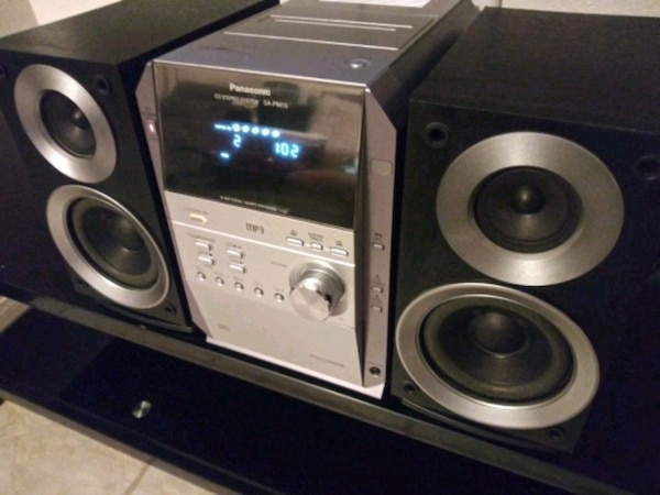 Panasonic home sound system stereo