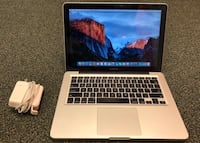 "Apple MacBook Pro 13.3"" Laptop LED Intel i5 3210M 2.5GHz 4GB 500GB - MD101LLA Takoma Park, 20912"