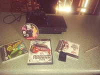 PlayStation 2, 4 Games, 8MB Memory Card  Chester, 23831