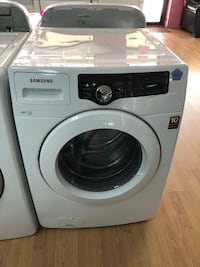 Samsung white front load washer  Woodbridge, 22191