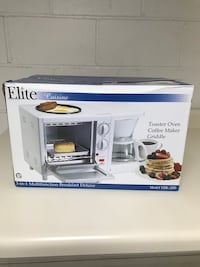Elite 3 in one toaster oven