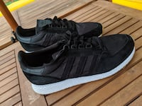 Adidas Forest Grove Core Black Gum size 11 Silver Spring