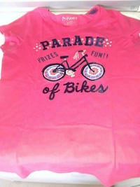 red and black crew-neck shirt Bakersfield, 93307