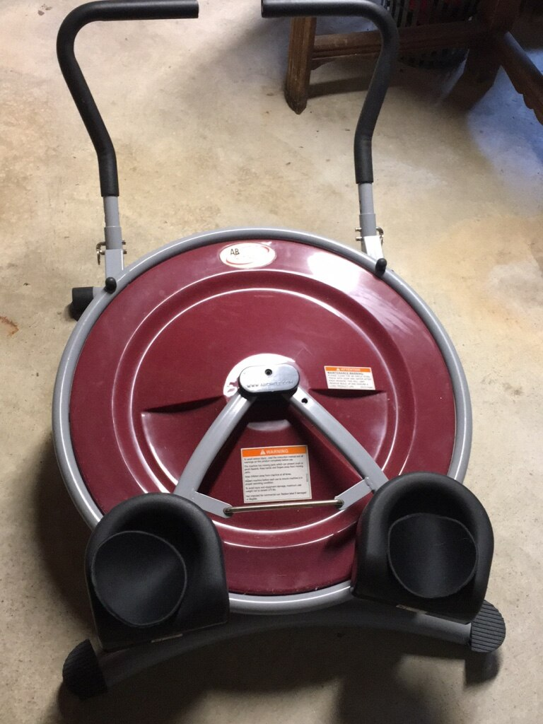 red and black ab circle pro for sale  Jacobus