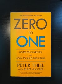 ZERO TO ONE - PETER THIEL / Kitap, İş