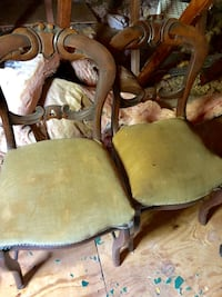 Antique chairs to be refurbished . Montgomery Village, 20886