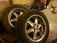 2002 dodge ram rims n brand new tires Ingersoll, N5C 3M4