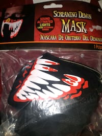 Screaming Demon Halloween Mask  Toronto, M6M 5B7