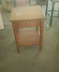 All wood night stand  Oklahoma City, 73106