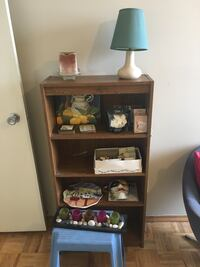 SHELVING UNIT, LAMP, MISC ITEMS Toronto, M2K