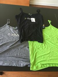 3 New with tags Itworks Cami Tees Perth Amboy, 08861