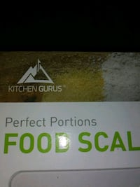 Kitchen Guru's perfect portions digital food scale Bakersfield, 93306