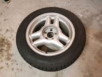 Set of 4 winter tires with rims Mississauga, L5M 5L8