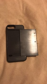 black iPhone 7 with case Gainesville, 32605