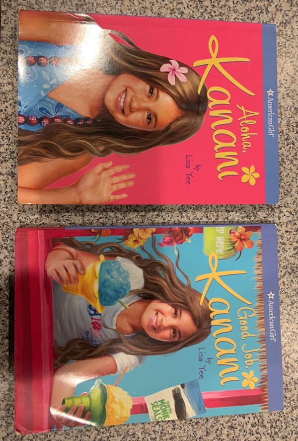 American girl doll books - 2