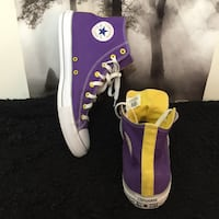 LA Lakers color way Converse size 14 Charles Town, 25414