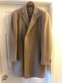 Like New Ralph Lauren Camel Overcoat 46R Centreville, 20121